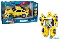 Машина-трансформер D 622 - H 079 A, подсветка, звук, в коробке