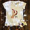 Жіноча футболка з принтом - Have a nice day