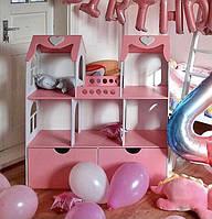 Кукольный домик для кукол Барби (Barbie) с ящиками