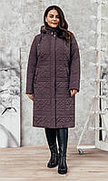 Пальто-плащ  П-78 бардо