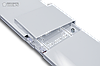 Инфракрасный обогреватель UDEN-200 теплый плинтус металлокерамический , фото 3