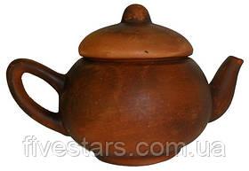 Чайник глиняный малый гладкий 300 мл