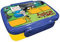 Ланчбокс Adventure Time AT15-160K (коробка для бутербродов школьнику) , бутербродница