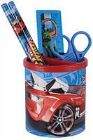 Набор  настольный канцтоваров для школьника Hot Wheels HW13-205K набор подарочный,подстаканник
