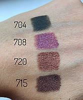 Карандаш для глаз Miss tais (разные цвета, свотчи) 714 коричневый, фото 1