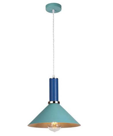 Люстра подвесная на один плафон 7529515 BLUE-INDIGO, фото 2