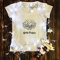 Жіноча футболка з принтом - Harry Potter - Хогвартс