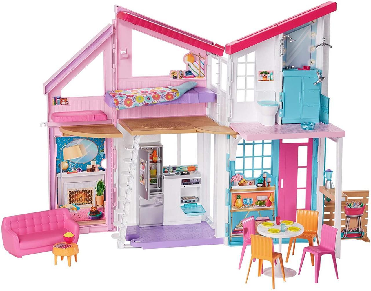 Портативний будинок Барбі Barbie Doll House Playset