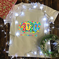 Чоловіча футболка з принтом - Rainbow 2020