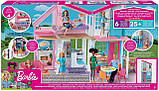 Портативный дом Барби Barbie Doll House Playset, фото 6