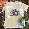 Чоловіча футболка з принтом - Американський папаша