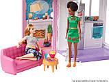 Портативный дом Барби Barbie Doll House Playset, фото 10