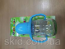 Пляшечка для годування скляна, 125мл Бусинка