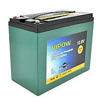 Аккумуляторная батарея Vipow LiFePO4 12,8V 30Ah со встроенной ВМS платой 25A