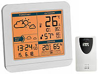 Цифровая метеостанция для дома с беспроводным датчиком TFA SKY White (123*52*117 мм)