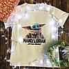 Чоловіча футболка з принтом - Йоду
