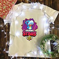 Чоловіча футболка з принтом - Brawl Stars