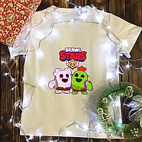 Мужская футболка с принтом - Brawl Stars