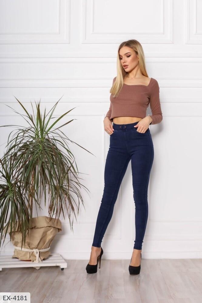 Женские стрейчевые  джинсы