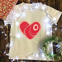 Чоловіча футболка з принтом - М'ясне Серце
