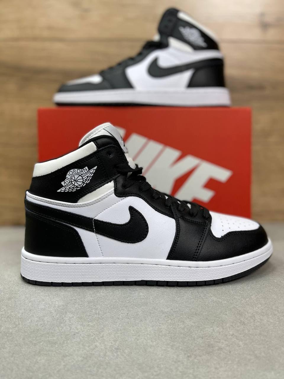Чоловічі кросівки N!ke Air Jordan 1 High White/Black/Red весна/осінь 41 | 42 | 43 | 44 | 45