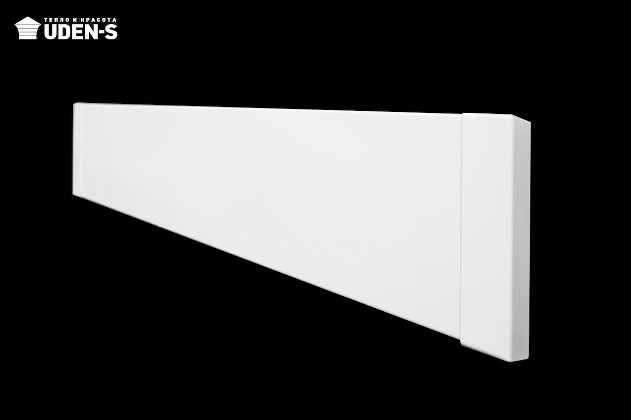 Теплый плинтус UDEN-S 100 обогреватель инфракрасный металлокерамический 498х130х15 мм 100 Вт