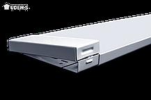 Теплый плинтус UDEN-S 100 обогреватель инфракрасный металлокерамический 498х130х15 мм 100 Вт, фото 3