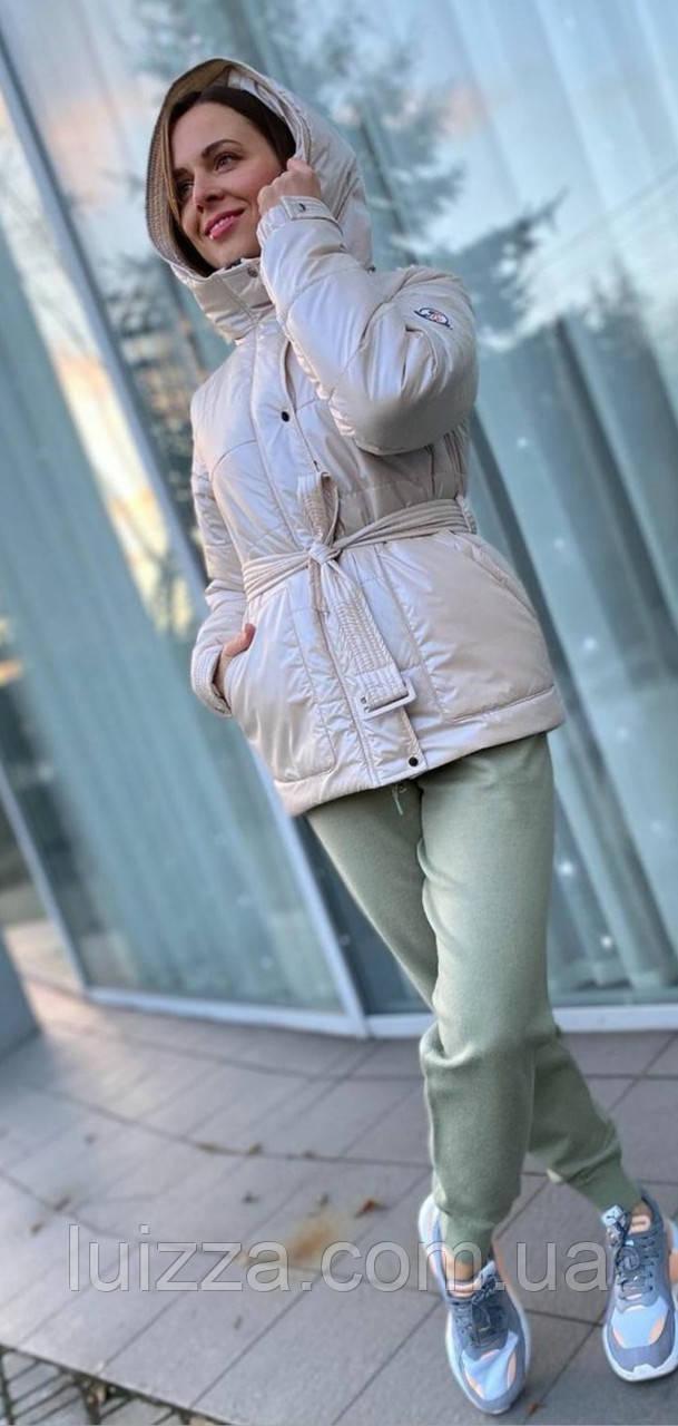 Молодіжна коротка куртка 50-52рр корал 46