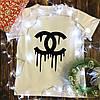 Чоловіча футболка з принтом - Chanel
