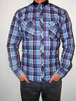 Молодежная мужская рубашка
