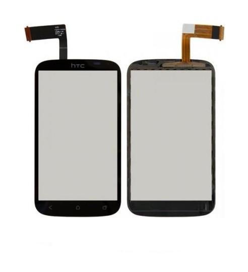 Сенсор (Тачскрин) для HTC T328e Desire X (Черный) Оригинал Китай