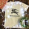 Чоловіча футболка з принтом - Burberry