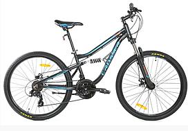 Двухподвесный велосипед Crosser Legion 26 рама 14
