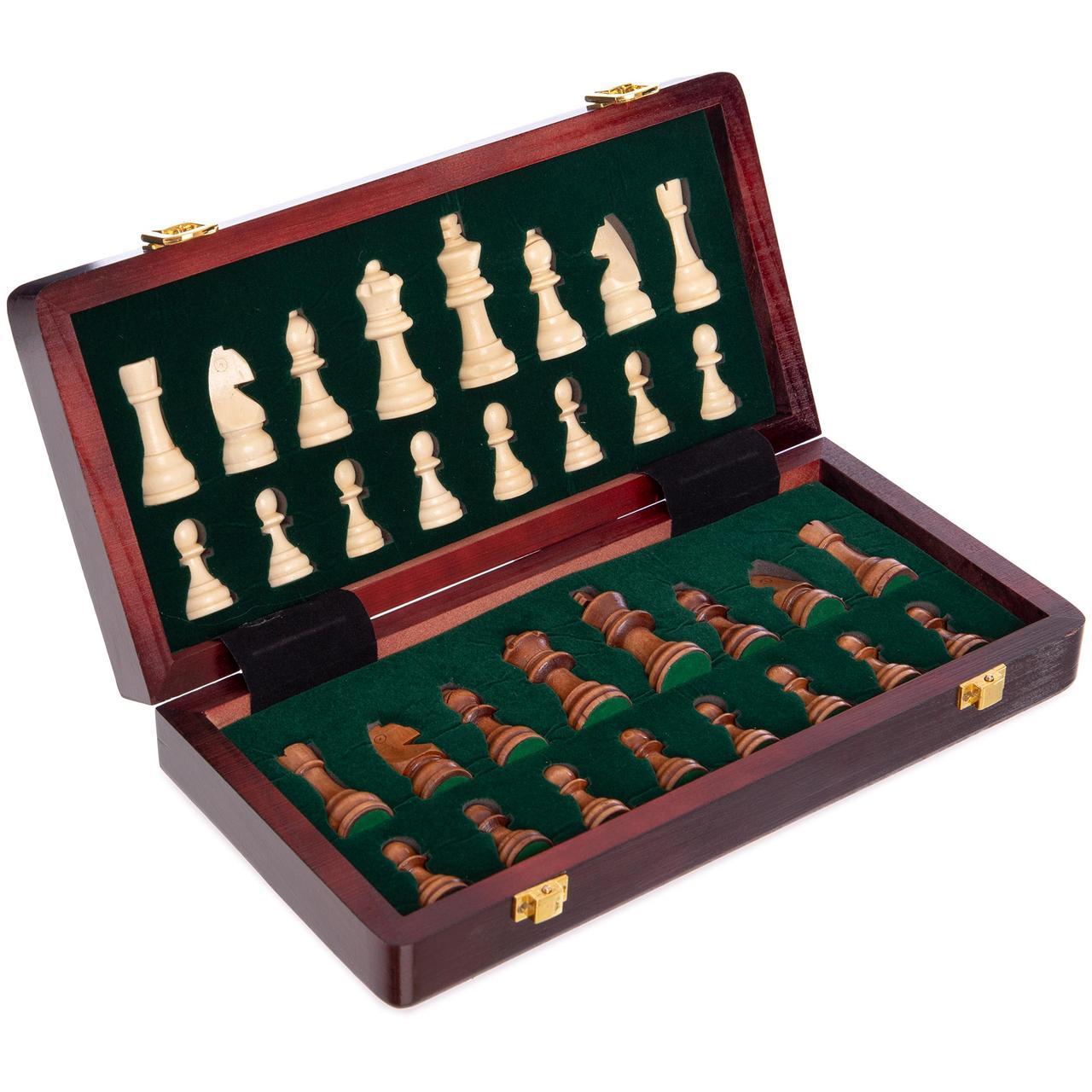 Шахматы деревянные ZOOCEN 30 x 30 см X3008