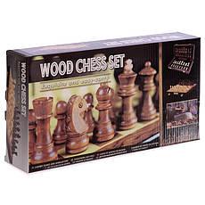 Шахматы деревянные ZOOCEN 30 x 30 см X3008, фото 2