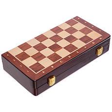 Шахматы деревянные ZOOCEN 35 x 35 см X3118, фото 3