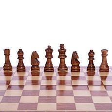 Шахматы деревянные ZOOCEN 35 x 35 см X3118, фото 2