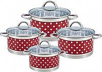 Набір Кухонного Посуду Bohmann ВН-7626-08 Набір Каструль 8 Предметів, фото 1