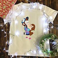 Чоловіча футболка з принтом - Гравити Фолз
