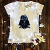 Женская футболка  с принтом - Дартвейдер