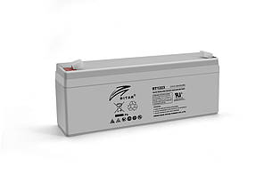 Акумуляторна батарея AGM RITAR RT1223, Gray Case, 12V 2.3Ah ( 177 х 35 х 62 (68) ) Q10