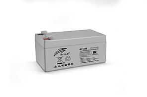 Акумуляторна батарея AGM RITAR RT1232, Gray Case, 12V 3.2Ah (133 х 67х 59 (63) мм) Q10