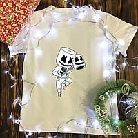 Чоловіча футболка з принтом - Marshmello