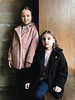Пальто детское весна розовый