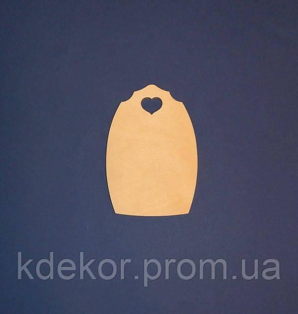 Доска (досточка, панно) заготовка для декупажа и декора