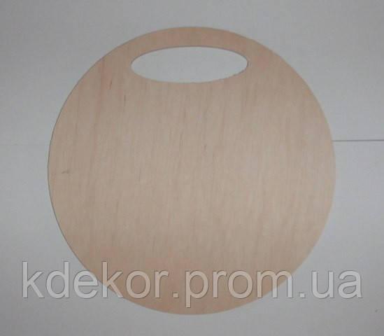Круглая лосточка (панно) заготовка для декупажа и декора