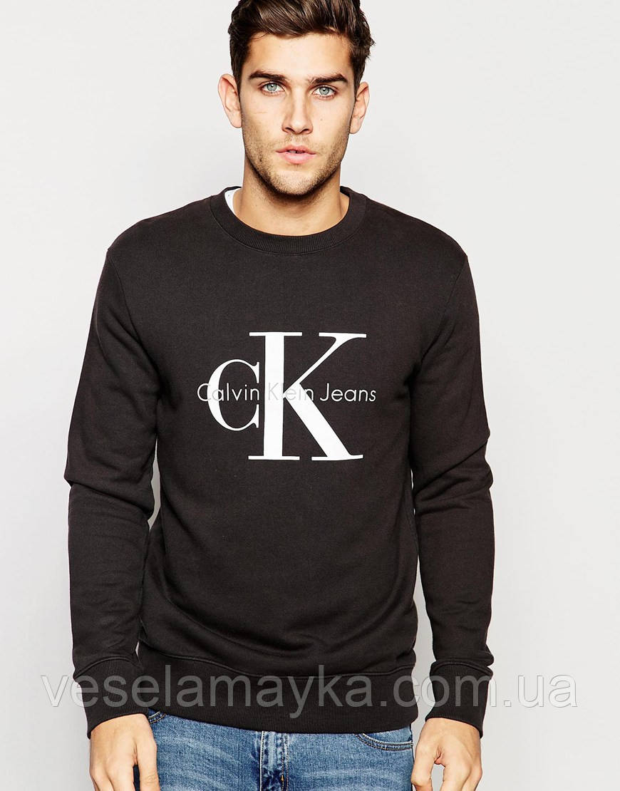Свитшот с логотипом Calvin Klein
