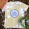 Мужская футболка с принтом - Химия