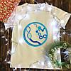 Мужская футболка с принтом - ДНК молекулы, механизмы