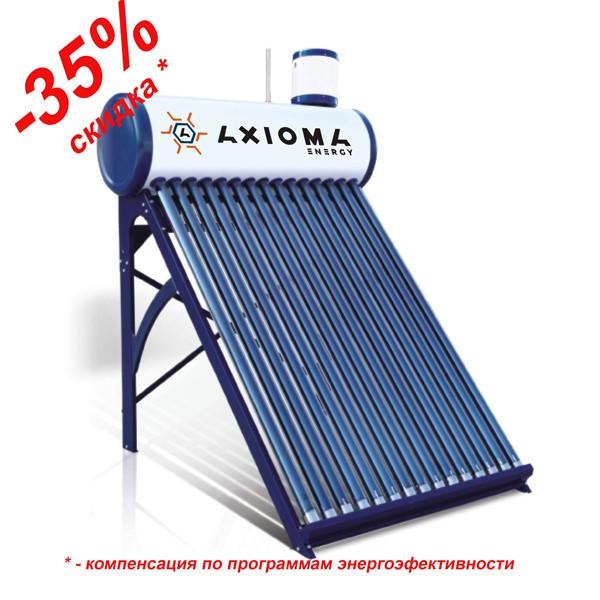 AXIOMA energy Термосифонний сонячний колектор з напірним теплообмінником AX-30T, AXIOMA energy
